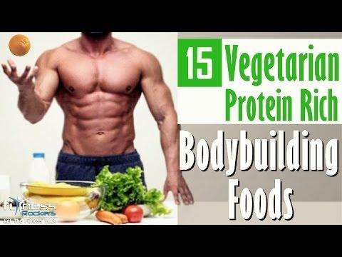15 vegetarian protein rich foods for vegan bodybuilding | Hindi | Fitness Rockers