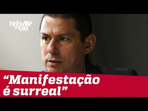 Manifestação atrapalha reforma da Previdência, diz presidente da comissão Marcelo Ramos
