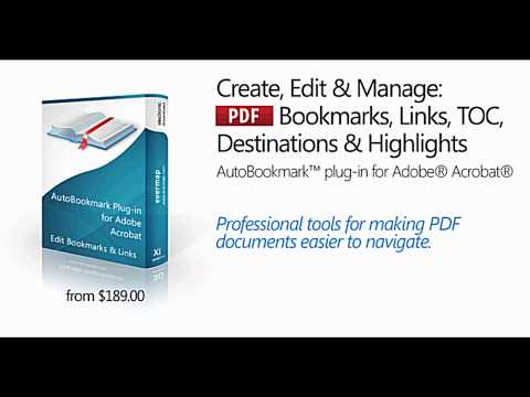 Sorting Bookmarks and Pages in PDF's with AutoBookmark