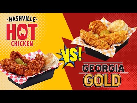 KFC Nashville Hot Chicken Vs Georgia Gold Chicken