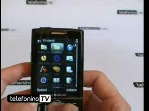 Videoanticipazione Samsung sgh-i550
