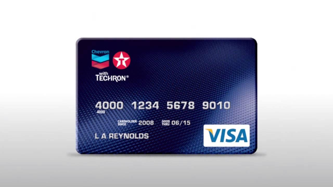 Chevron Texaco Credit Card >> Chevron Texaco Card