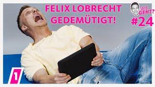 Felix Lobrecht flach gelegt! | Wie geht? #24