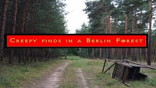 Creepy finds in a Berlin forest