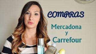 COMPRAS MERCADONA Y CARREFOUR ! Rosa Pastel