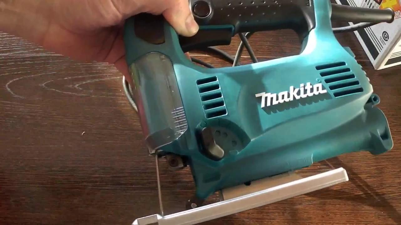 Ремонт лобзика МАКИТА 4324 и краткий обзор - YouTube