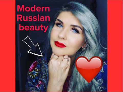 russian beauty  makeup tutorial  anna kgb  youtube