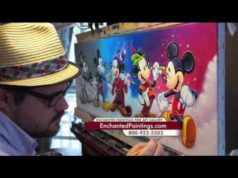 Disney Fine Artist Tim Rogerson On KDVR Fox Denver