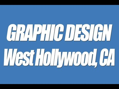 West Hollywood CA Graphic design professional local business web graphics Logos headers banners 9004