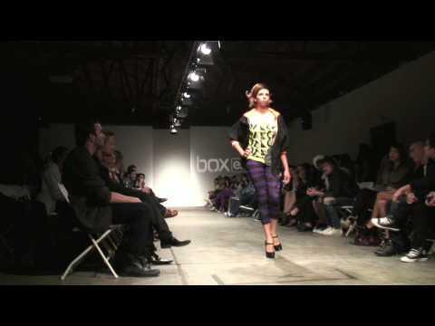 Fashion Week Los Angeles - Model Danella Lucioni BACKSTAGE!