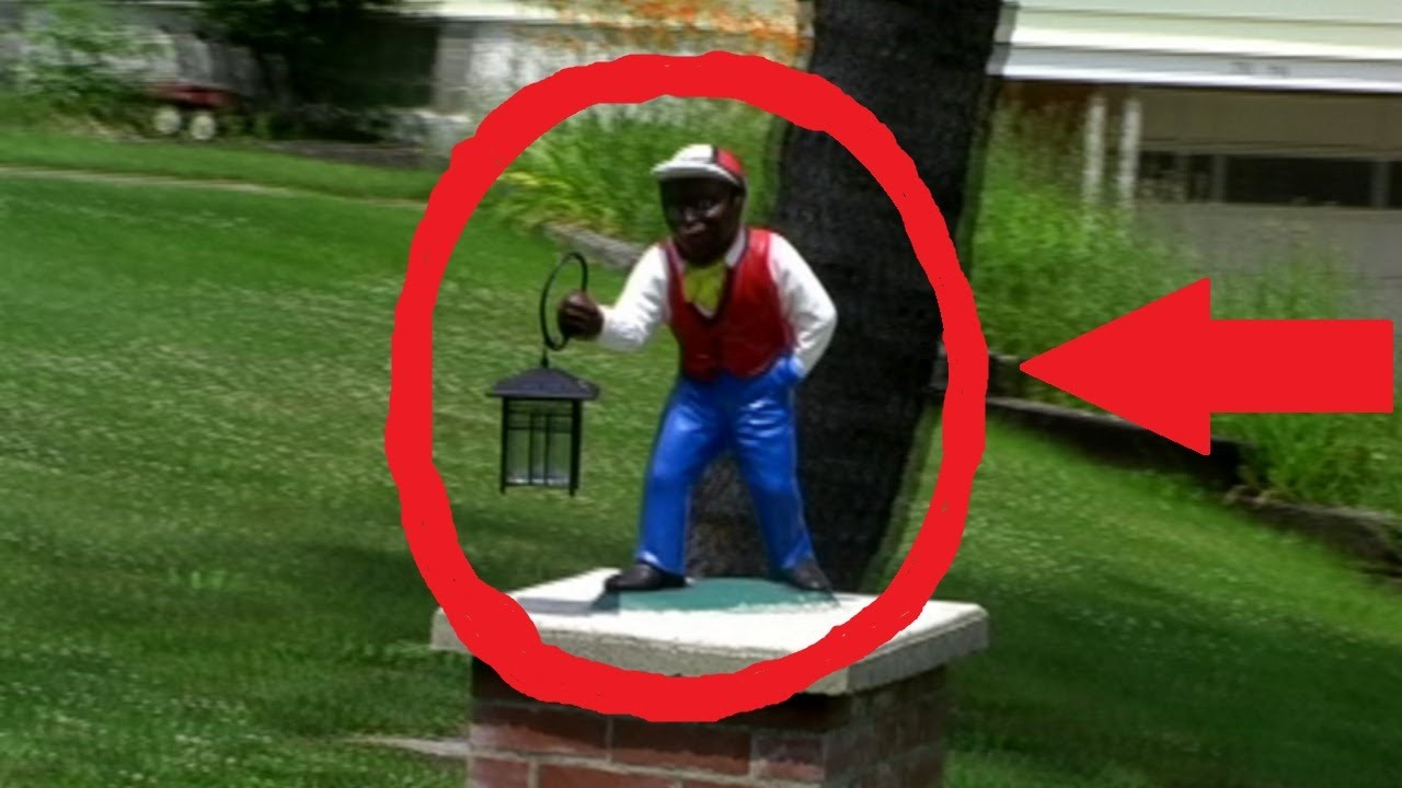 Lawn Jockey With Lantern