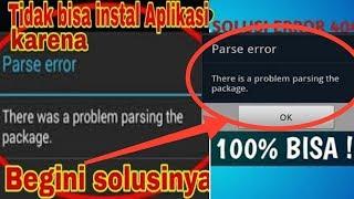 Cara memperbaiki Error Parse Saat Install Aplikasi Di Android