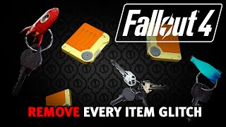 Fallout 4 - Delete EVERY Item Glitch! (After Patch 1.7/1.10)