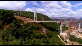 Technické divy světa - Most v oblacích ( Viadukt Millau )