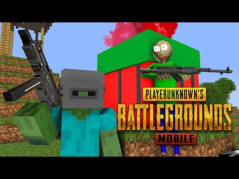 Monster School : PUBG MOBILE CHALLENGE - Minecraft Animation