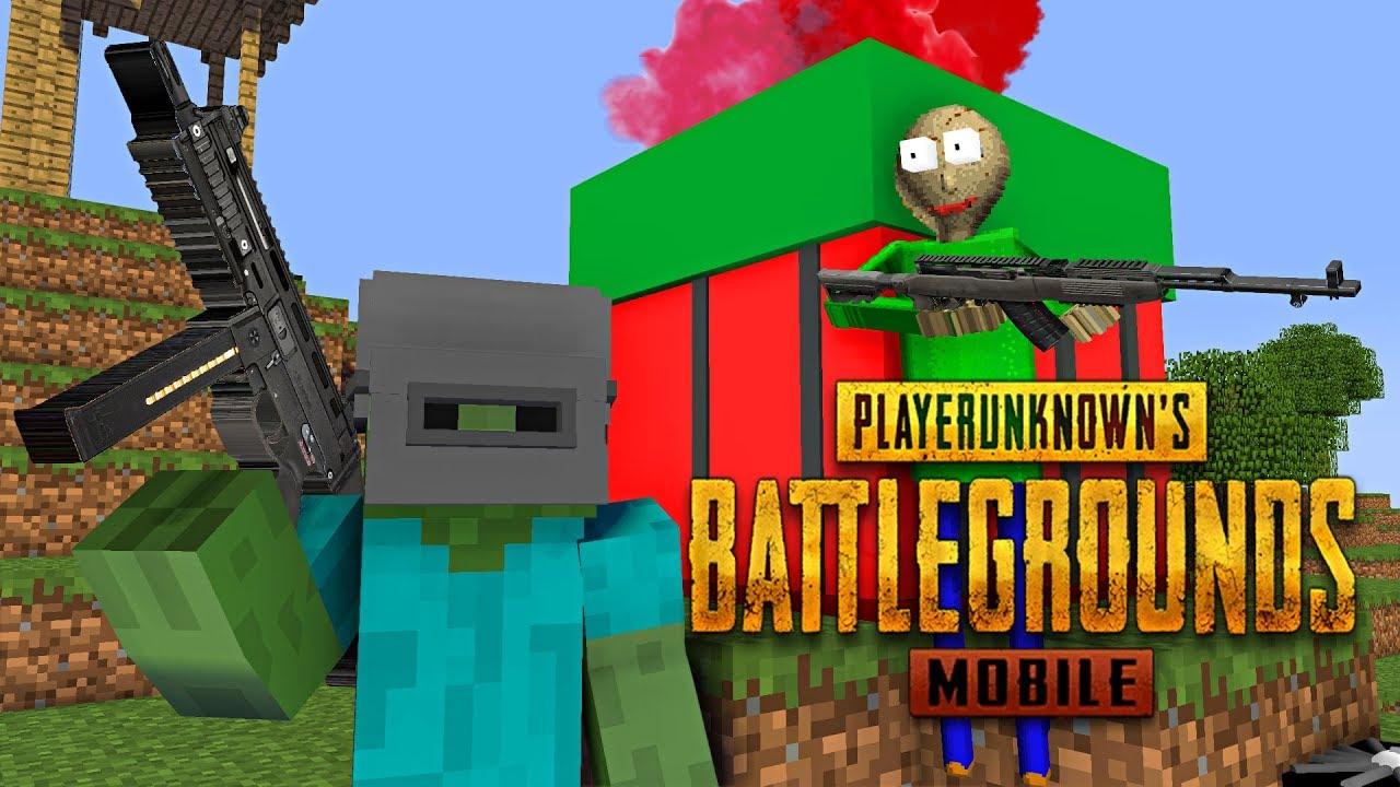 Monster School : PUBG MOBILE CHALLENGE - Minecraft Animation