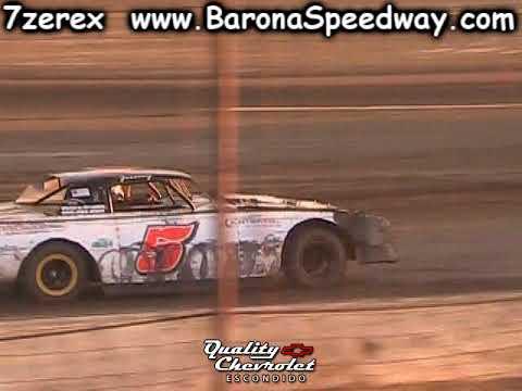 Street Stock Heat 2 Barona Speedway 10-21-2017