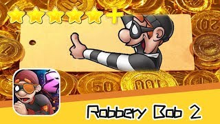Robbery Bob 2 Hauntington 14 Walkthrough Get Gold Coins Recommend index five stars+