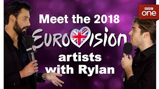 Meet the Eurovision 2018 artists with Rylan Part Two - BBC One