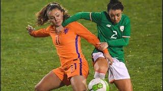 IRELAND VS NETHERLANDS (10/4/2018) GOALS & HIGHLIGHTS - Women