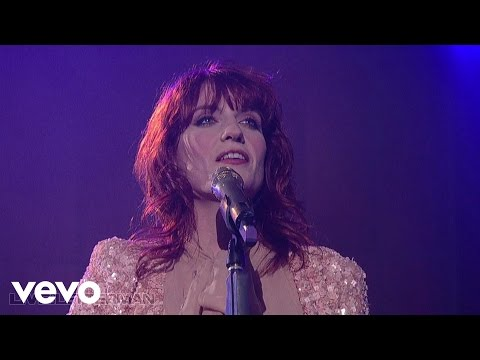 Florence + The Machine  Cosmic Love  on Letterman
