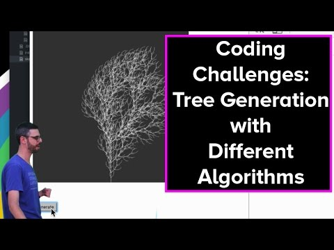 Live Stream #40:  Tree Generation with Different Algorithms
