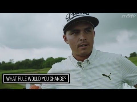 Rule Change? Rickie Fowler's Answer Will Surprise You