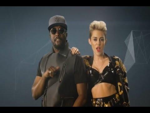 Miley Cyrus en el videoclip de Will.i.am 'Feeling myself'