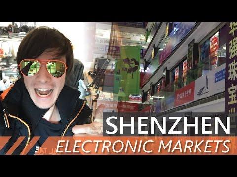 Visiting Shenzhen's Electronics Market - Tinkerer Heaven