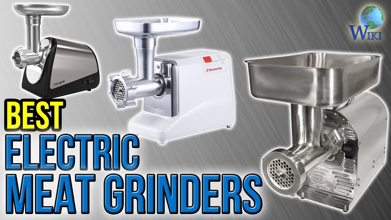 10 Best Electric Meat Grinders 2017