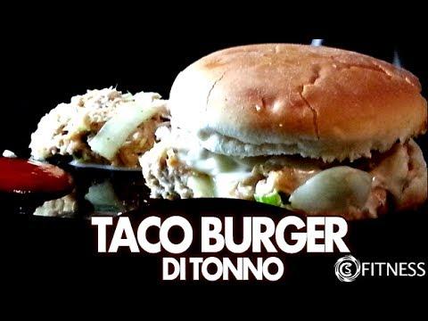 ★ Taco burger di tonno - hamburger di tonno