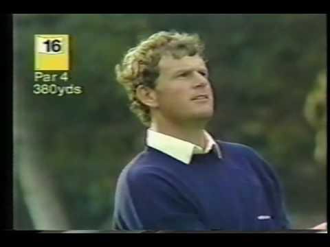 Sandy Lyle Swing 1987 WorldMatchplayChampionship