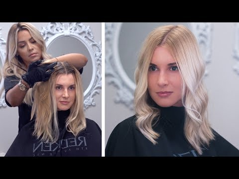 Damage Free Root Touch Up & Hair Toning