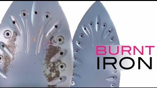 Clothes burnt on Iron | How to Clean an Iron Soleplate with Paracetamol