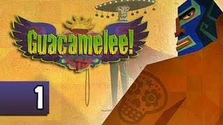 Guacamelee Gameplay Walkthrough - Part 1 Luchadore Power PS3 Let