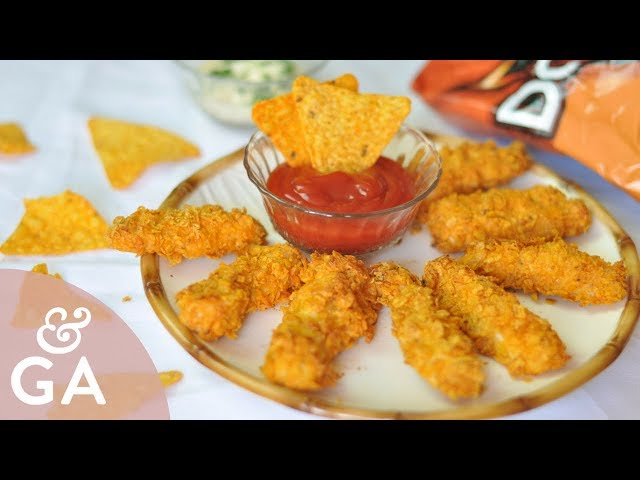 Pollo con Doritos al horno  Aperitivos y tapas originales