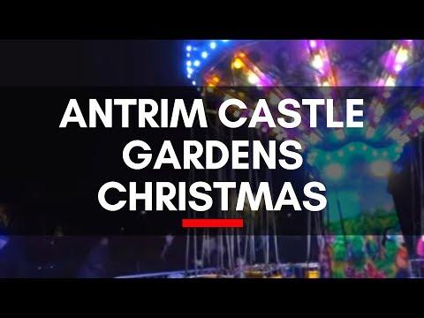 Antrim Castle Gardens Christmas-Enchanted Winter Garden-Antrim & Newtownabbey Borough Council