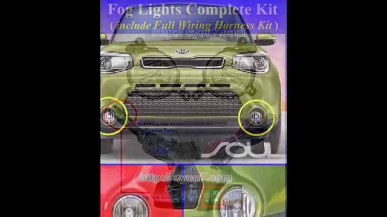 maxresdefault 2014~2016 kia soul fog light lamp complete kit,full wiring harness Kia Automotive Wiring Diagrams at panicattacktreatment.co