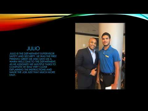 SUMMER INTERNSHIP AT MIAMI MARRIOTT 4 0