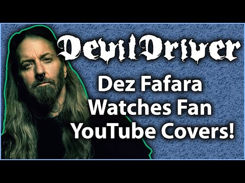 DEVILDRIVER's Dez Fafara Watches Fan YouTube Covers