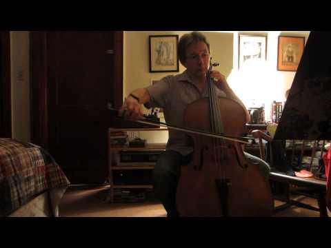 Unger: Ashokan Farewell (Unaccompanied Cello)