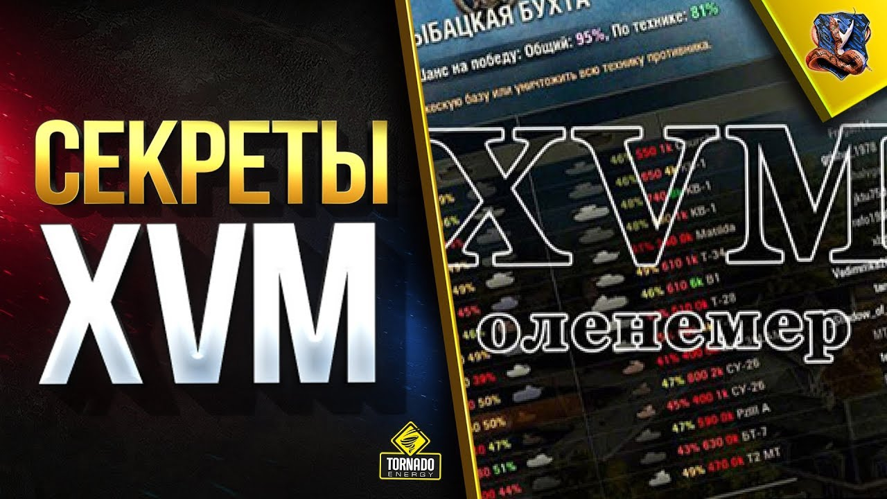Оленемер XVM для World of Tanks 1.11.0.0