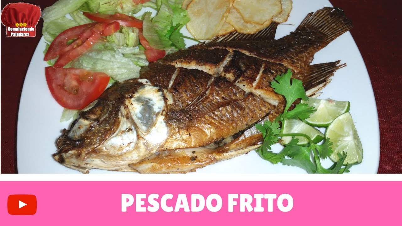 Pescado frito mojarra receta complaciendo paladares for Como hacer un criadero de mojarras