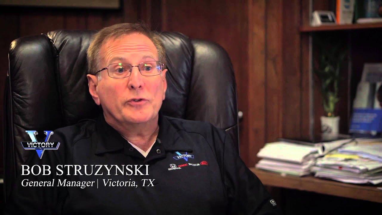 Bob Struzynski I General Manager I Victory Honda I Victoria, TX