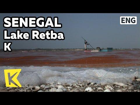 【K】Senegal Travel[세네갈 여행]핑크빛 염호, 장미 호수/Lake Retba/Lac Rose/Pink Lake/Salt/Ship