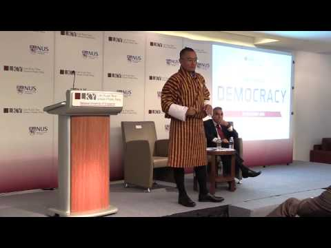 [Q&A] Democracy by Bhutan Prime Minister Tshering Tobgay