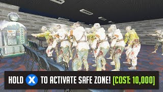 A &quotSAFE ZONE&quot IN ZOMBIES... (Black Ops 3: Custom Zombies Mod)