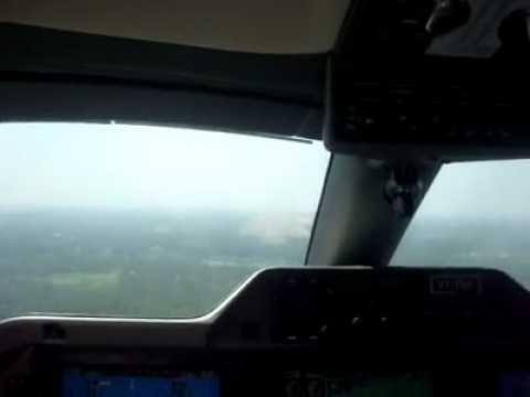 landing at  cochin airport