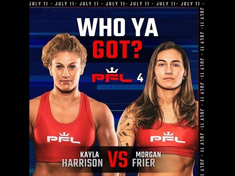 PFL Kayla Harrison vs. Morgan Frier Fight Review