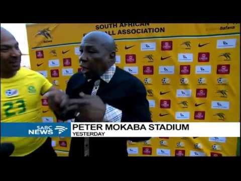 Bafana Bafana coach, Shakes Mashaba suspended